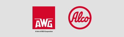 Logoarrangement AWG Alco