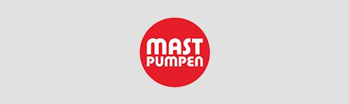 Logoarrangement Mast Pumpen