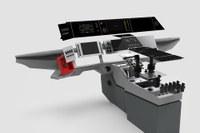 Z-Cab AiR dashboard centre console web