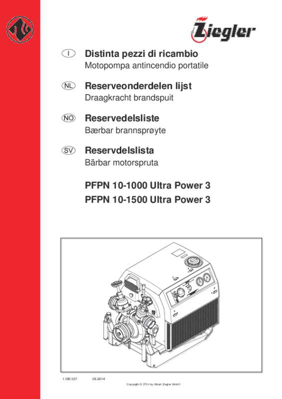 PFPN 10-1000 Ultra Power 3, PFPN 10-1500 Ultra Power