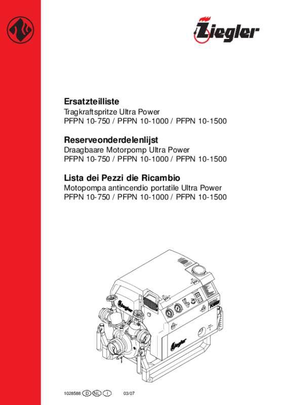 PFPN 10-750 Ultra Power, PFPN 10-1000 Ultra Power, PFPN 10-1500 Ultra Power
