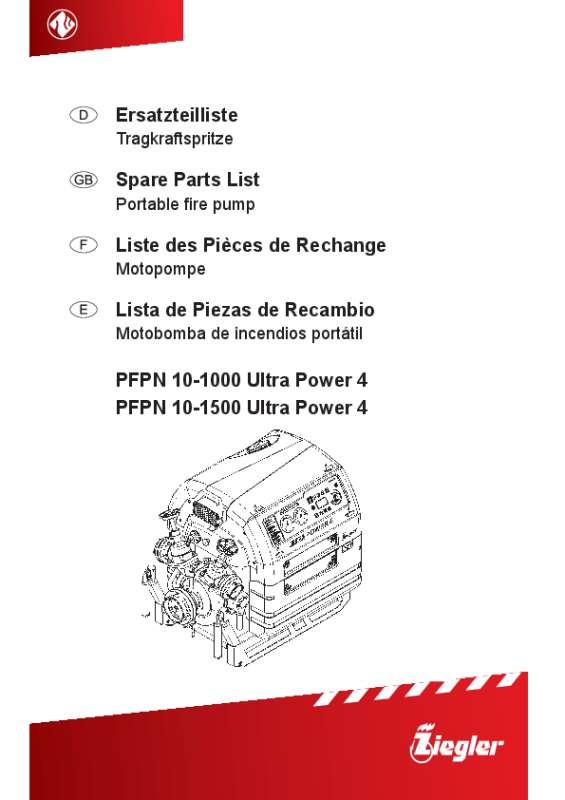 PFPN 10-1000 Ultra Power 4, PFPN 10-1500 Ultra Power 4